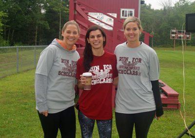 Amanda Robbins, Zoe Zalta, and Chelsea Sawyer
