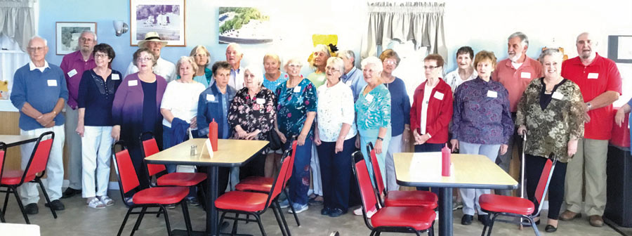 Class of 1958 60th reunion